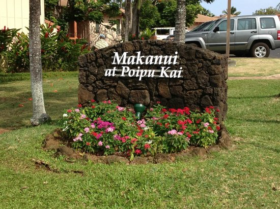 Aston at Poipu Kai: Entrance to Makanui