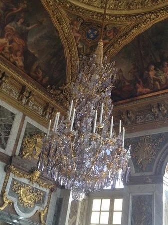 PARISCityVISION: versailles. salon de los espejos. mucha opulencia