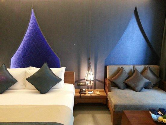 อวิสตา ไฮด์อะเวย์ รีสอร์ท แอนด์ สปา เอ็มแกลเลอรี บาย โซฟิเทล: blue bedroom