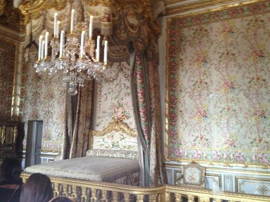 Paris City Vision: versailles. los aposentos de la reina