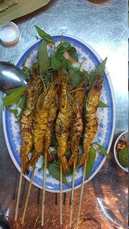 Saigon Street Eats: Shrimp