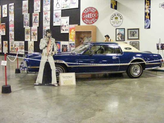 Tupelo Automobile Museum: A car museum In Tupelo, of course you need a car once owned by Elvis