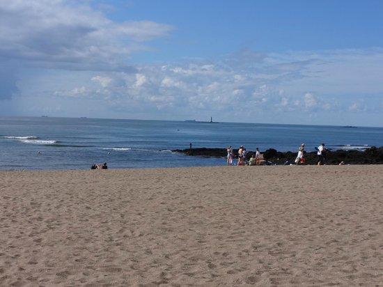 Villa Flornoy: Beach at nearby St. marc sur mer