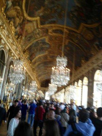 Paris City Vision: versailles. salon de los espejos. mucha opulencia
