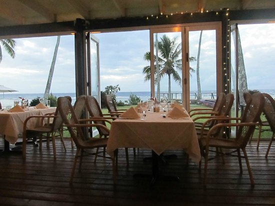 Tamarind House Restaurant: View from the dining room