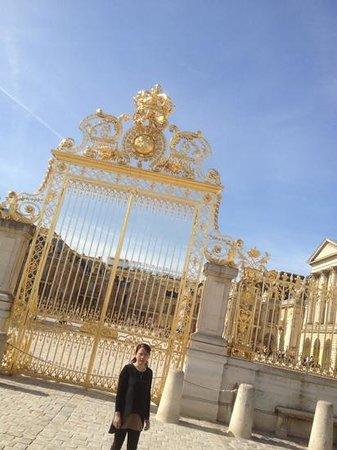 Paris City Vision: versailles. entrada principal