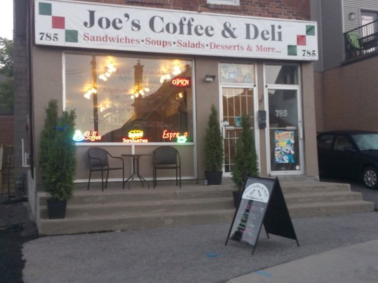Joe's coffee & deli: new look