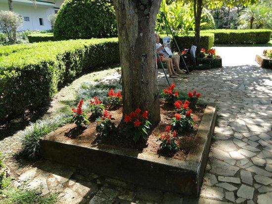 Parque das Aguas: jardim
