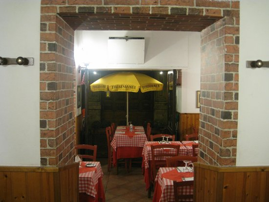 Taverna Le Coppelle: Homey atmospshere