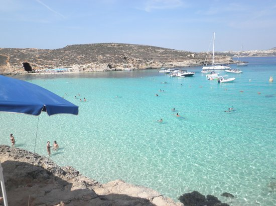 Pace's Guest House: comino blue lagoon