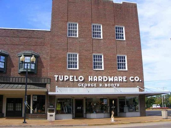Tupelo Hardware Company: Just a modern hardware store in a very old building