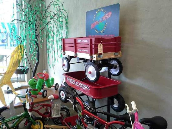 Tupelo Hardware Company: You don't see Radio Flyer bikes and wagons in stores anymore.