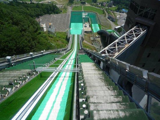 Hakuba Jump Arena: ノーマルヒルスタート地点
