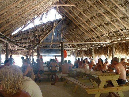 Klein (Little) Curacao: Mermaid (infraestrutura na praia)