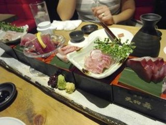 Nihombashi Suminoe: 刺身7種盛り