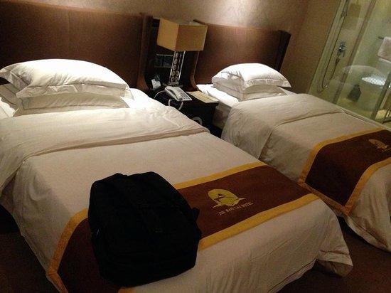 Vienna Zhihao Hotel Guangzhou Tianhe Zhongshan Avenue Tangxia: Bed