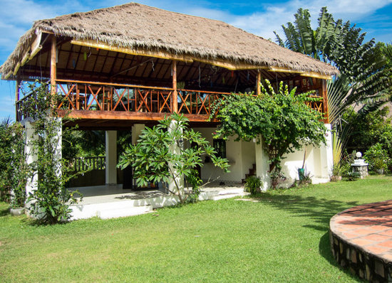 Malibu Estates Bungalows Resort: Reception