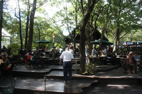 Bakery Cafe Penny Lane Nasuhonten: Outside dining