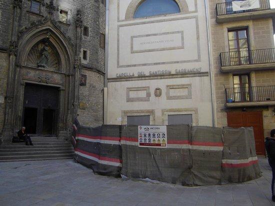 มหาวิหารเซนต์แมรีออฟเดอะซี: Blocked