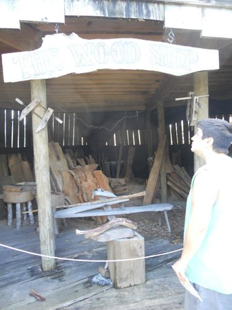 Fort Menendez at the Old Florida Museum: The Wood Shop