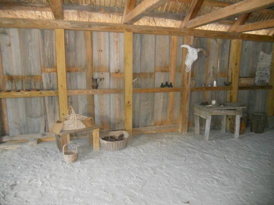 Fort Menendez at the Old Florida Museum: The kitchen