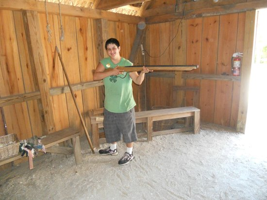 Fort Menendez at the Old Florida Museum: Friend or Foe?