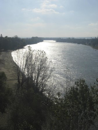 The Suvorov Monument: Near monument (River Dniester)