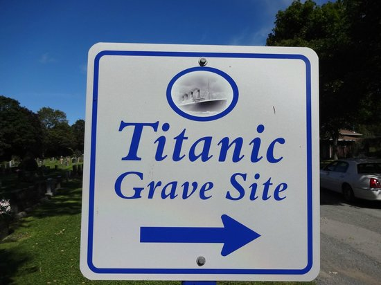 Halifax Titanic Historical Tours: See Sign