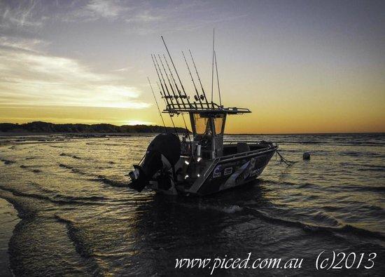 Ramada Resort by Wyndham Eco Beach: Fishing boat