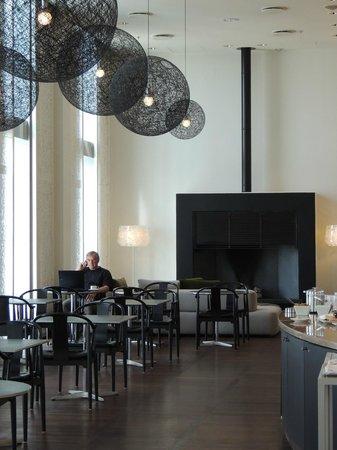 โรงแรมฮิลตัน โคเปนเฮเกน แอร์พอร์ท: Executive lounge