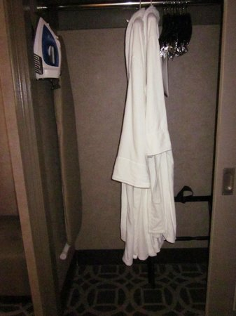 The Madison Washington DC, A Hilton Hotel: Closet - robes are provided but we didn't use them!