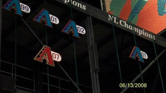 Chase Field: d-back history