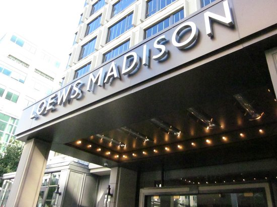 The Madison Washington DC, A Hilton Hotel: Exterior of the hotel