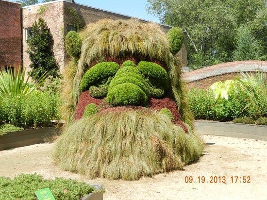 Atlanta Botanical Garden: Ogre
