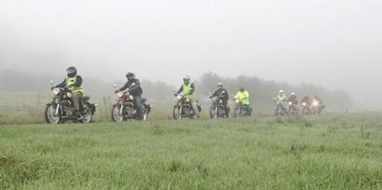 Timetravellers Motorcycle Tours & Events - Day Tours: Heading out early