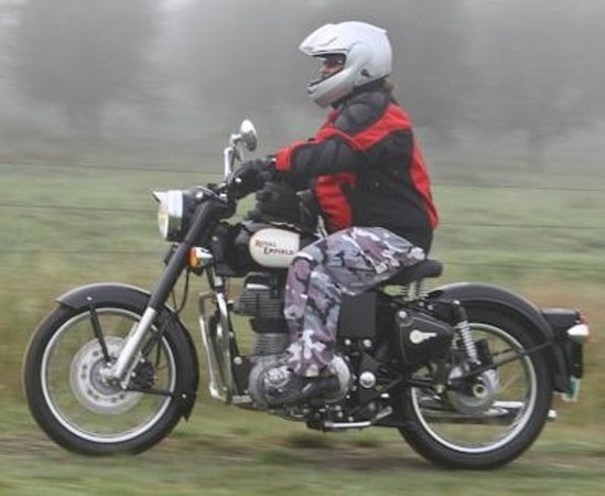 Timetravellers Motorcycle Tours & Events - Day Tours: Rider on tour
