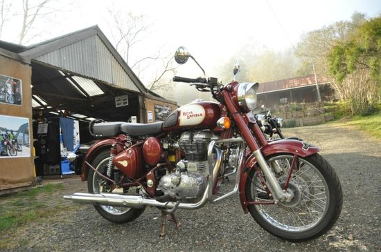 Timetravellers Motorcycle Tours & Events - Day Tours: Royal Enfield at Timetravellers shop
