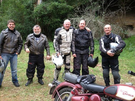 Timetravellers Motorcycle Tours & Events - Day Tours: Taking a break