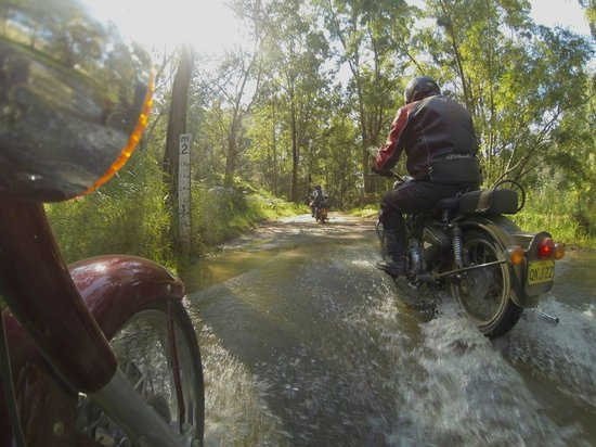 Timetravellers Motorcycle Tours & Events - Day Tours: Adventure Tour on unsealed roads