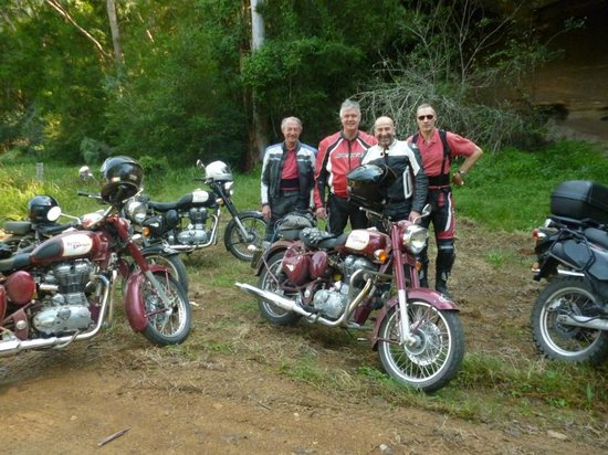 Timetravellers Motorcycle Tours & Events - Day Tours: Adventure Tour smiles all round