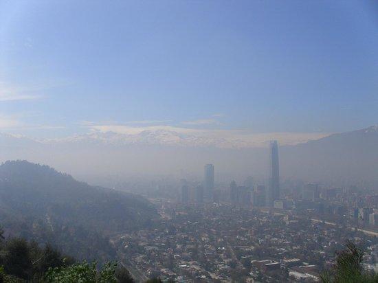 เนินเขาซานคริสโตบาล: Vista do mirante 02