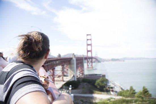 สะพานโกลเดนเกท: my sister on the bridge
