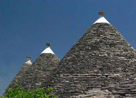 I Trulli di Alberobello - World Heritage Site: Trulli in the Zona Trulli