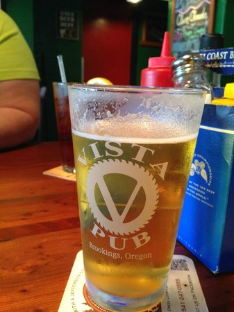 The Vista Pub: Great Beer!!!!