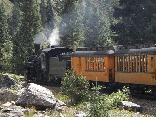 Durango and Silverton Narrow Gauge Railroad and Museum: train