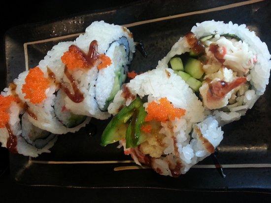 Urban Sushi & Grill: dynamite roll