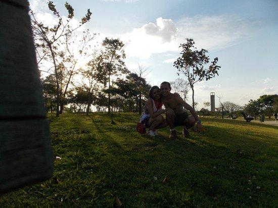 Villa Lobos Park: Pausa para fotos