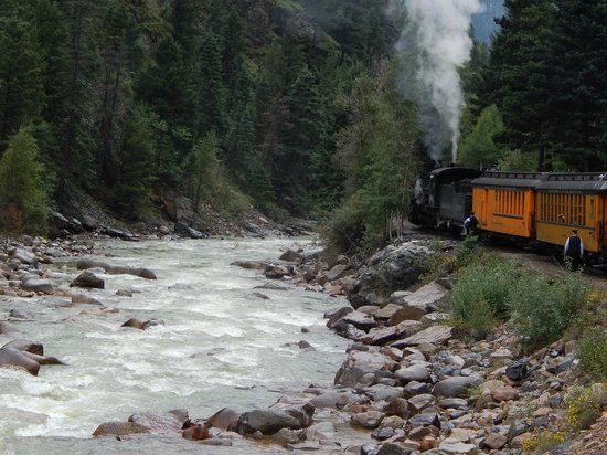 Durango and Silverton Narrow Gauge Railroad and Museum: train