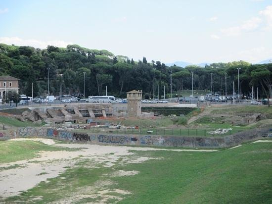 Italy Rome Tour: Magdi took us to learn about Circus Maximus...we learned so much!!!