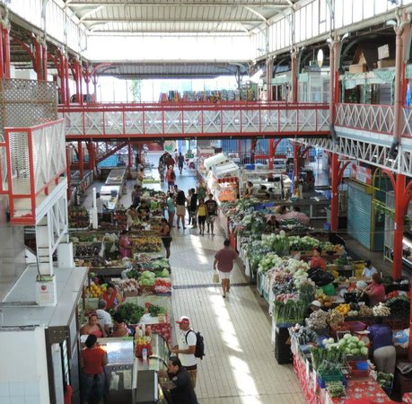 Municipal Market: Papeete's colourful market
